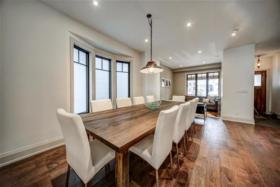 77 Hastings Avenue large dining room to host dinner parties