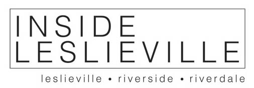 Inside Leslieville – Leslieville, Riverside, Riverdale Events, Parks, Shops, Restaurants, Condos and Houses Logo